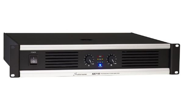 Studiomaster AX2 Series 2x 1100W power amplifier 2U - AX2-35